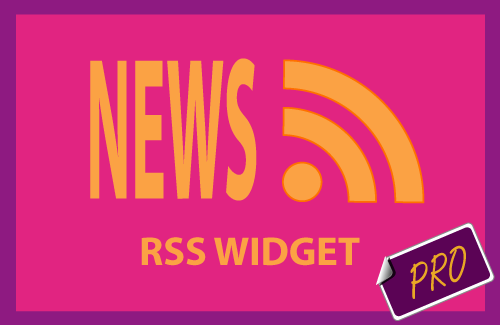 Muse news RSS feed widget