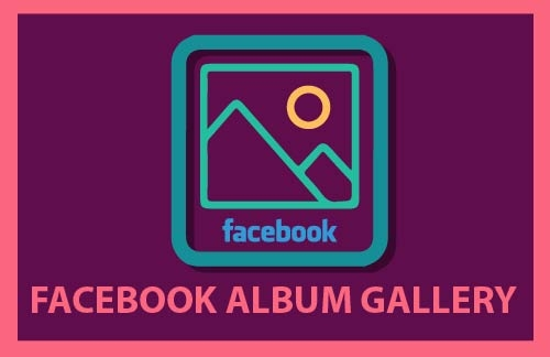 facebook album gallery adobe muse widget