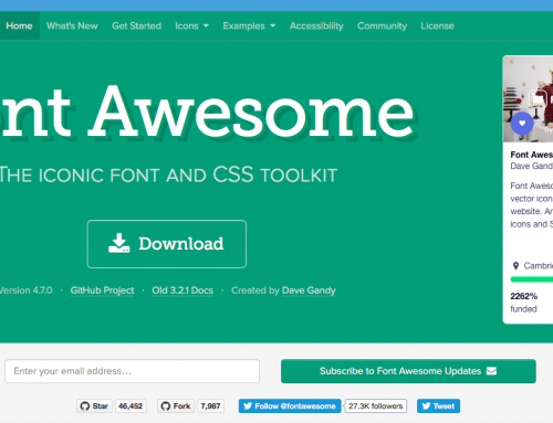 The easiest way to use Font Awesome in Adobe Muse