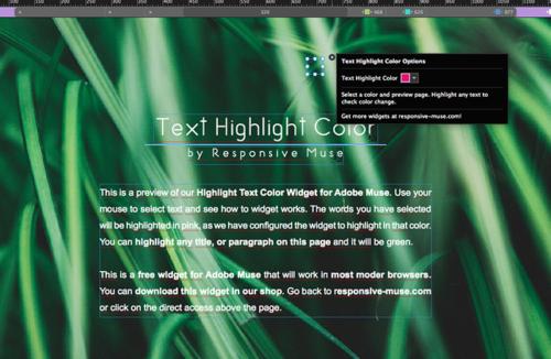 text-highlight-free-widget