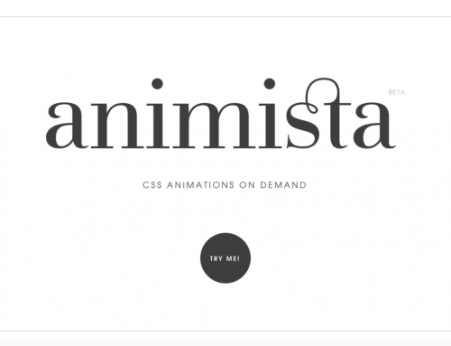 Creating easy CSS Animations in Muse with Animista