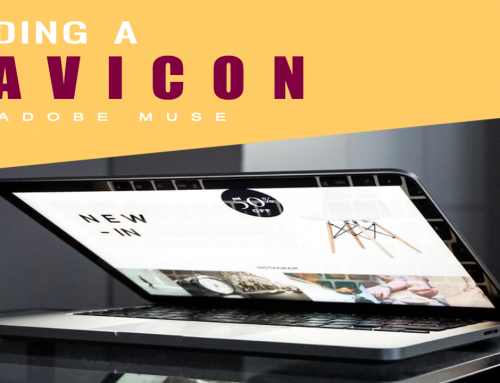 How to add a favicon to your Adobe Muse website