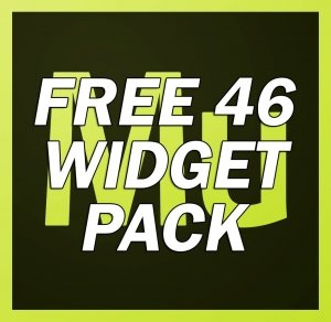muse widget free pack