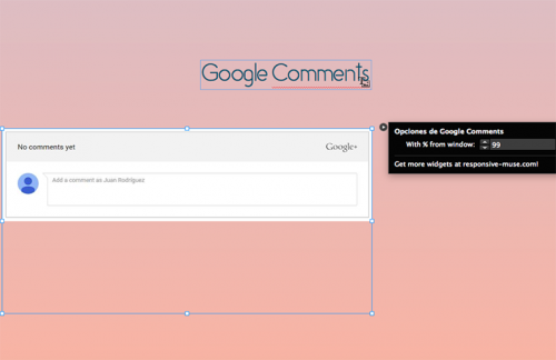 google-comments-options