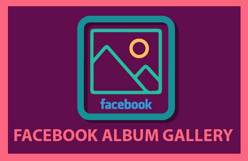 how to add a link to facebook ablum