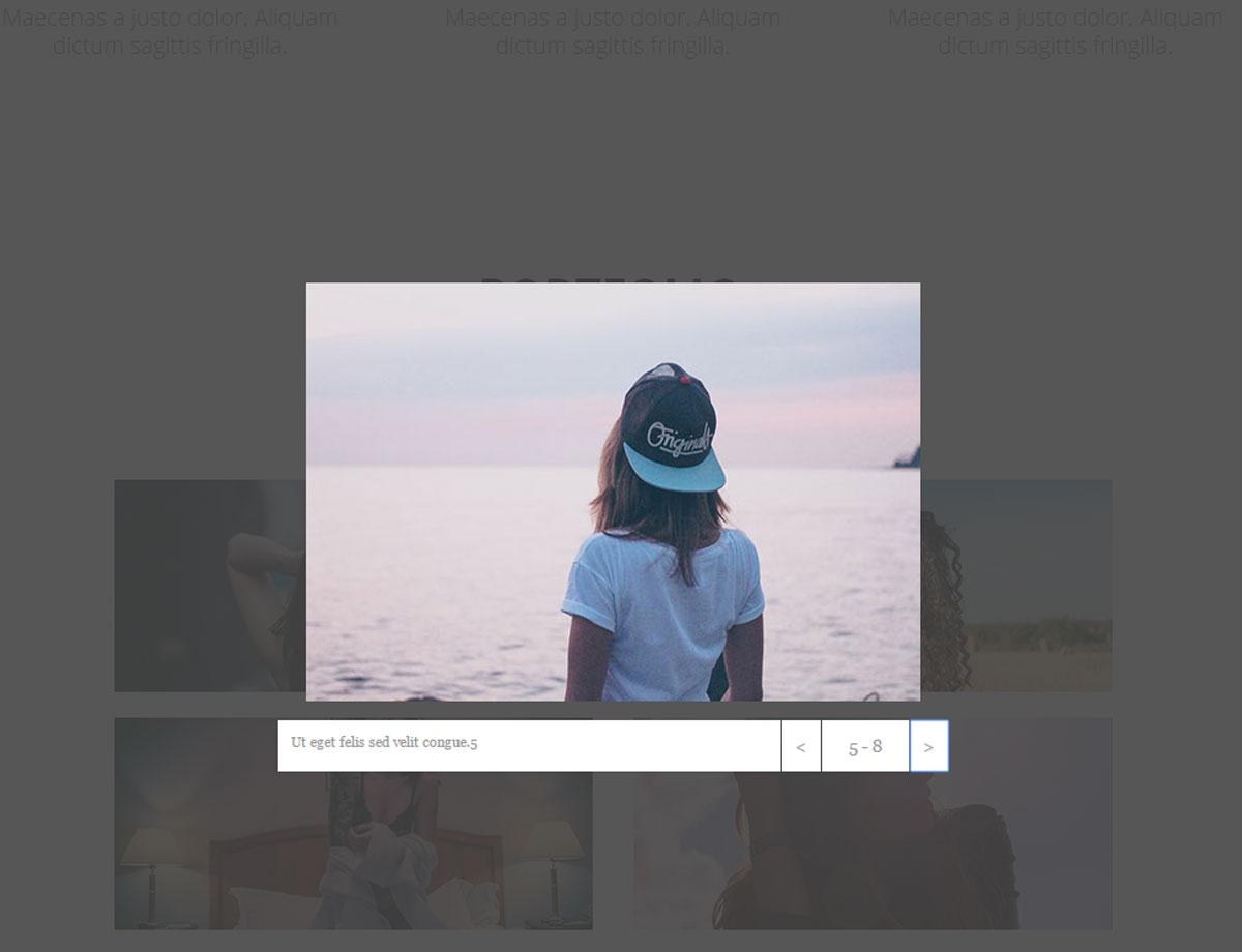 Simple portfolio free responsive muse templates widgets pronofoot35fo Images