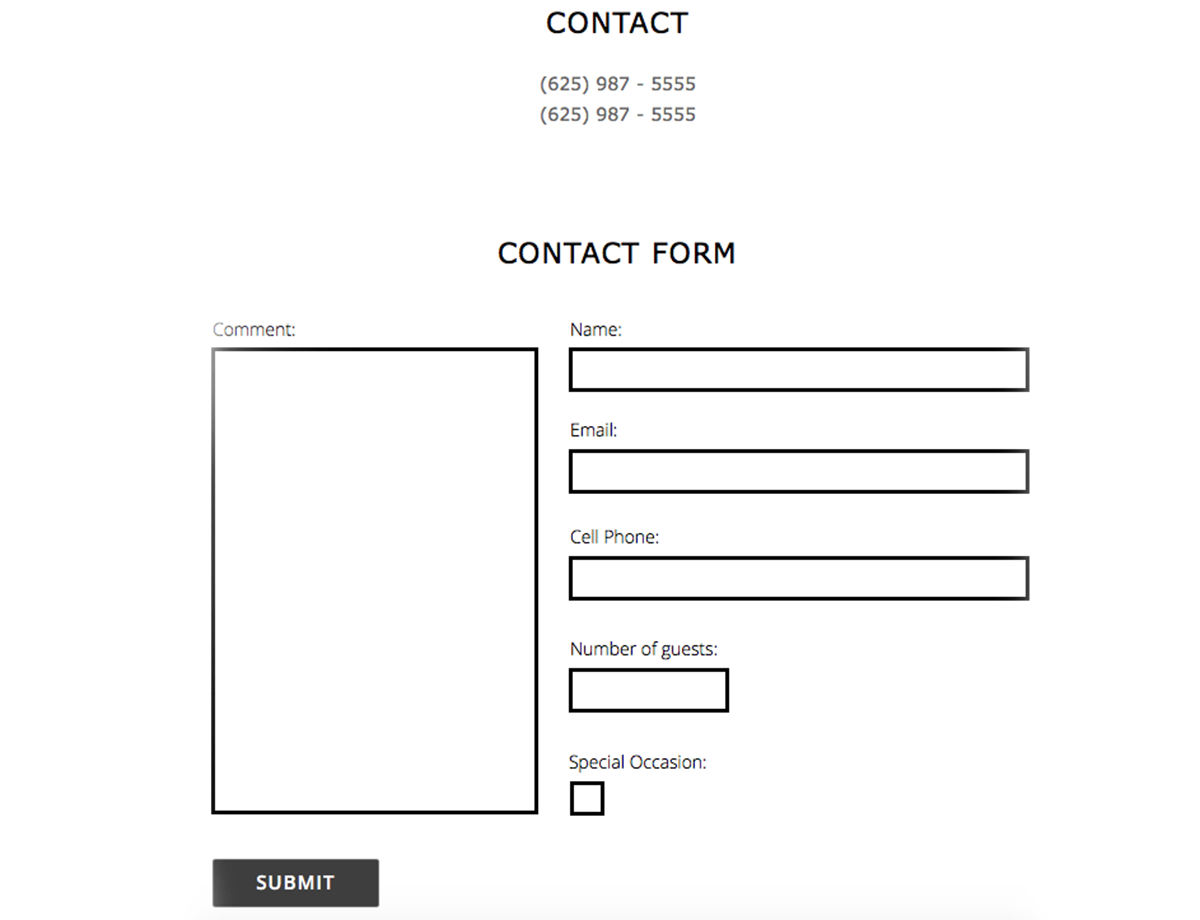 Nice Adobe Forms Templates Images Gallery Pdf General Photography