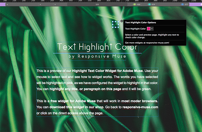 change highlight colour in adobe