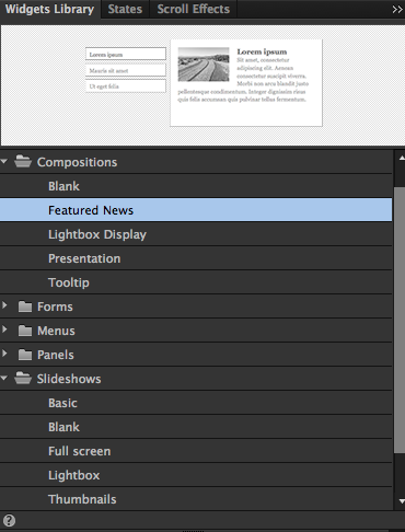 How to create a Portfolio in Adobe Muse - Responsive Muse