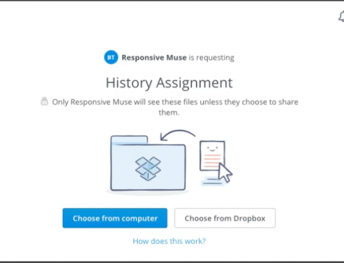 How to collect files in Dropbox from your Adobe Muse website
