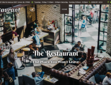 Check the features of our Restaurant theme