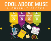 adobe-muse-highlight-effect