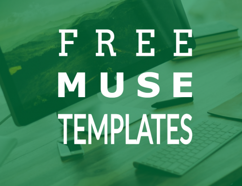 Where can I get free Adobe Muse templates?