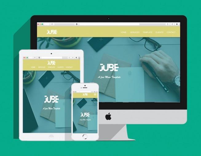 jube-free-muse-template