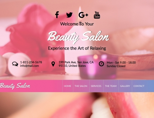 Check the features of our Beauty Salon theme