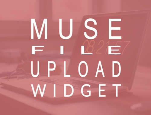 Adobe Muse file upload widget updated