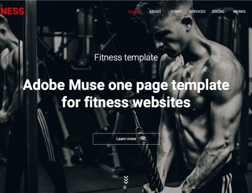 Check the features of our Fitness theme