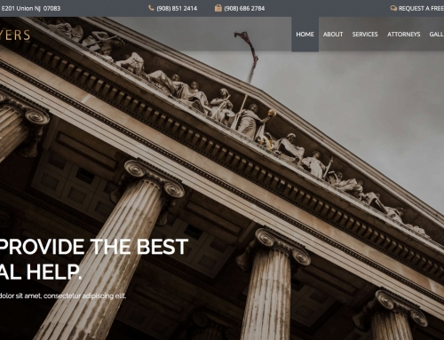 Check the features of our Lawyers theme