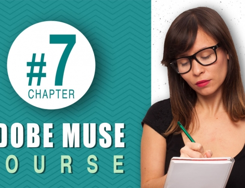 How to use the pin tool and state buttons in Muse – Chapter 7