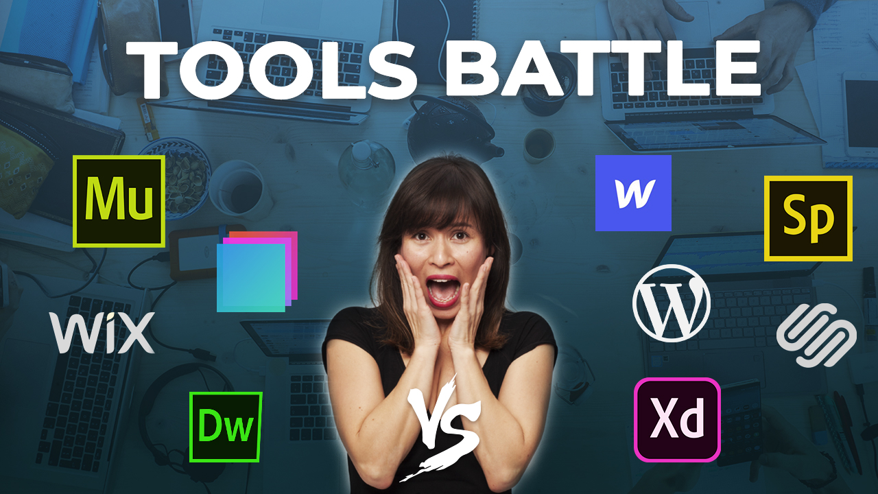 Let's compare Adobe Muse vs Dreamweaver vs Webflow vs Adobe