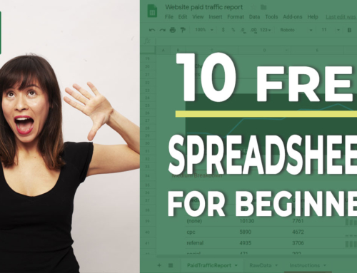 The 10 free Excel spreadsheets that you need if you are a beginner