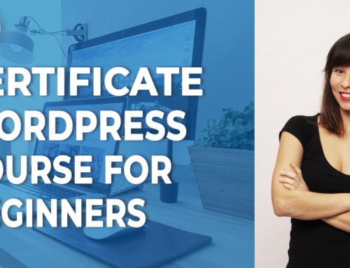 Learn how to build your WordPress site from zero with this certificate course for beginners